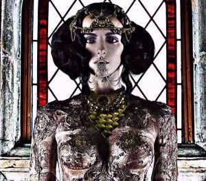 Creative Body Art by Freelance Makeup Artist London FTMakeup London