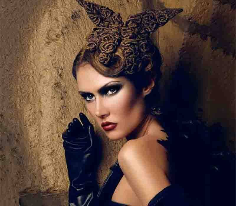 Freelance makeup artist London based Fiona Tanner