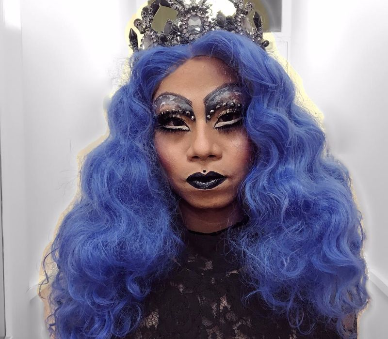 Halloween Drag Makeup Service by FTMakeup