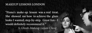 Makeup Lessons London Splash FT London