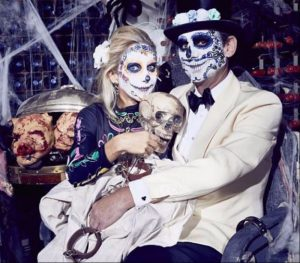 Mexican Day of the Dead Masks by FTMakeup London 2