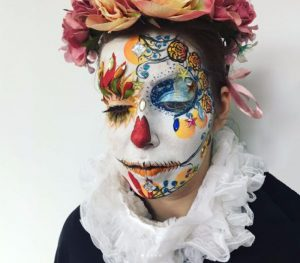 Mexican Day of the Dead Masks by FTMakeup London