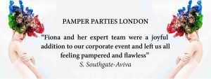 PAMPER PARTIES IN SOUTH EAST LONDON AT FTMAKEUP SPLASH