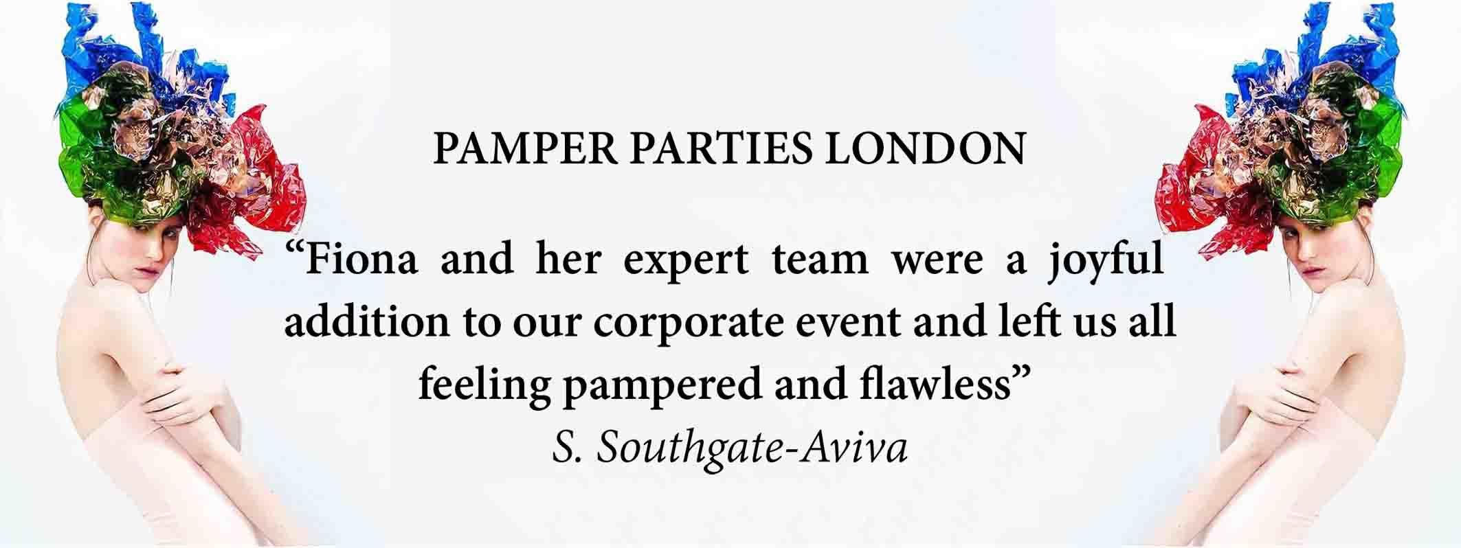 PAMPER PARTIES IN SOUTH EAST LONDON AT FTMAKEUP SPLASH