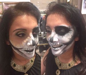 Ruuby Melting Skeleton 1 by FTMakeup London