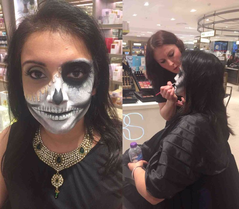 Ruuby Melting Skeleton 2 by FTMakeup London