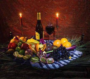Rembrandt Lighting still life photography by fine artist London based F Tanner