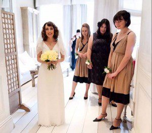 1930s retro style wedding by FTMakeup Vintage Bridal London