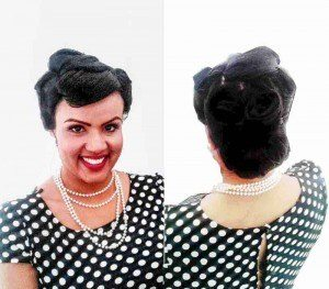 HEN PARTIES LONDON 1940S INSPIRED MAKEUP AND HAIR FIONA TANNER