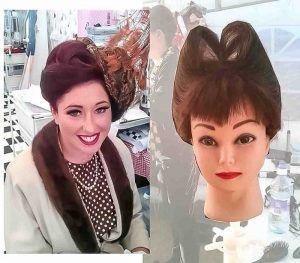 VINTAGE HAIR STYLIST FTMAKEUP FOR VINTAGE AT GOODWOOD TEAM