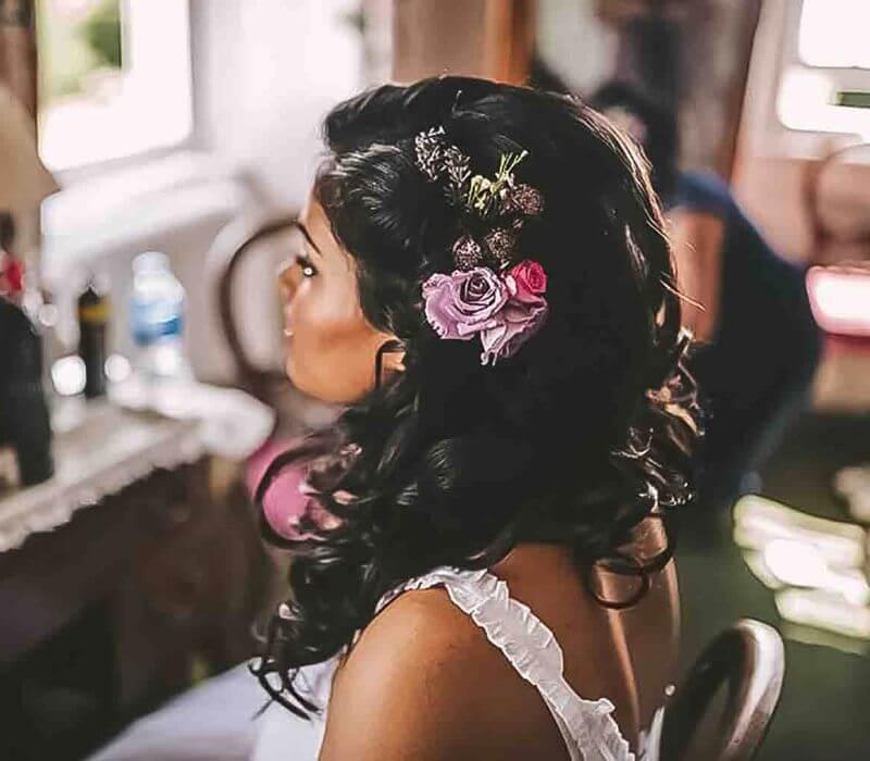 Asian bridal hair and makeup london based Fiona Tanner-Fatima Qureshi