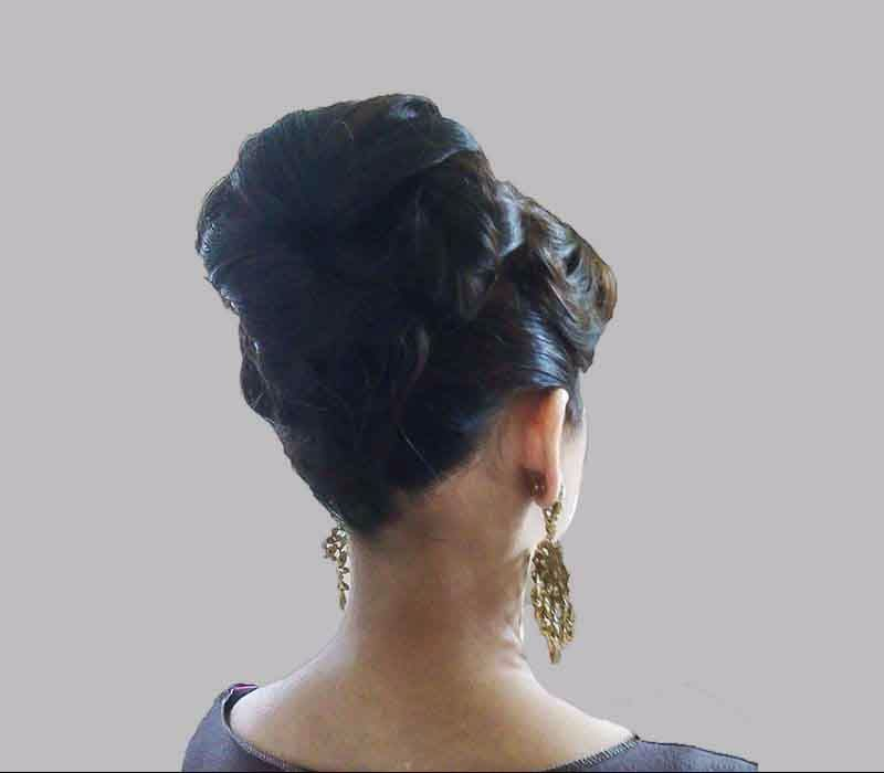 London based -Hair Trial Grecian Inspired