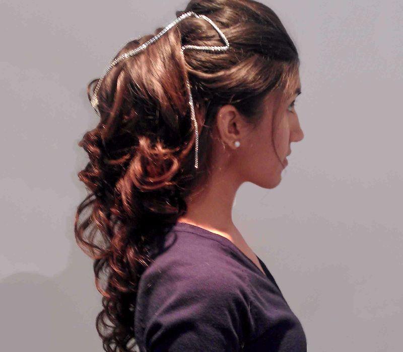 asian hair london based FT-Hair Trial Princess Jasmine Ponytail