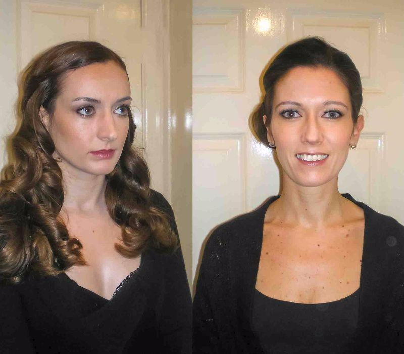 wedding hair-London makeup Artist-Wedding Trial by Fiona Tanner
