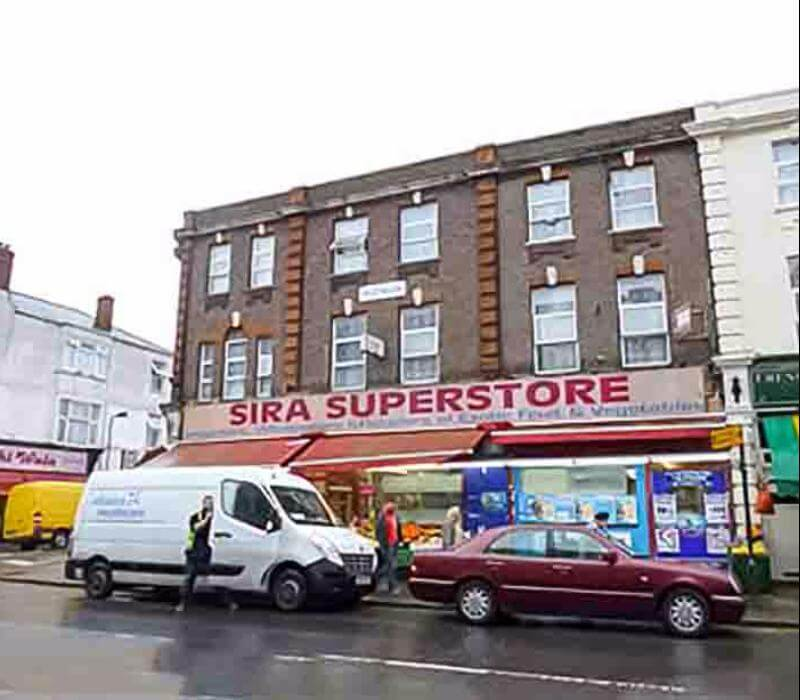 Sira Supermarket Advert with Chris Horton Productions-FT makeup artist in London