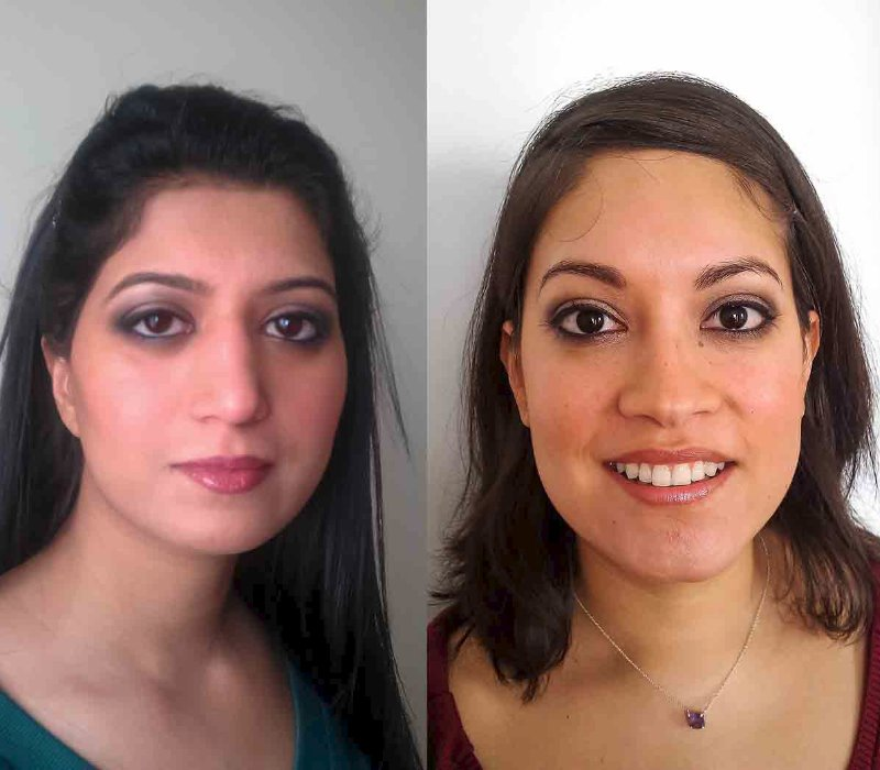 bridal makeup hair trial by Asian bridal makeup artists London Fiona Tanner10