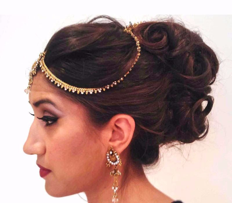 bridal makeup hair trial by Asian bridal makeup artists London Fiona Tanner16