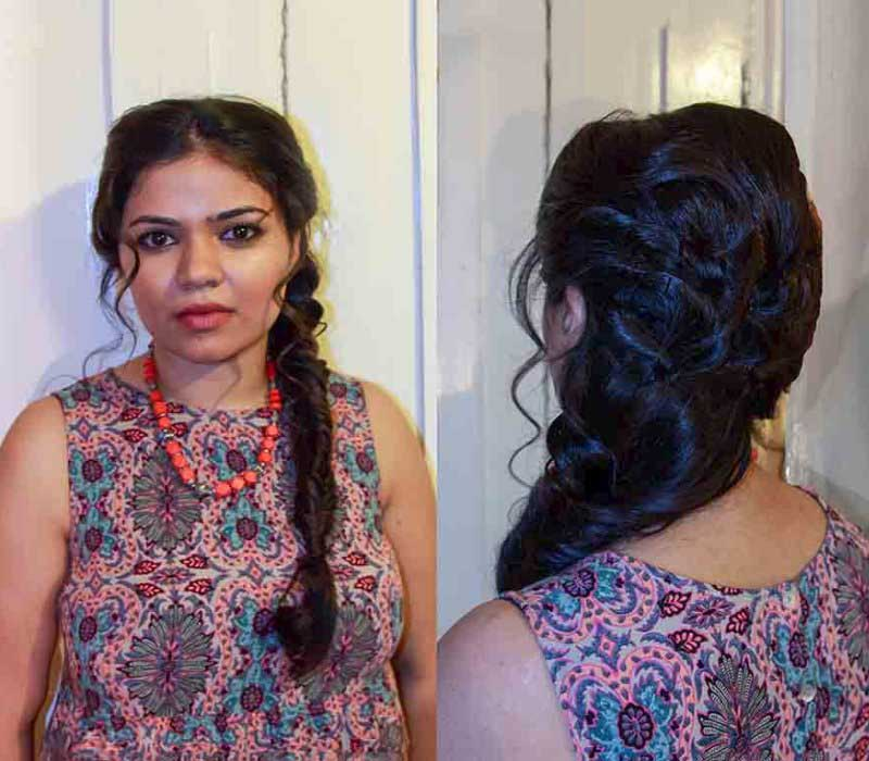 bridal makeup hair trial by Asian bridal makeup artists London Fiona Tanner8