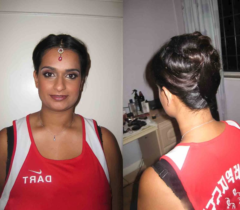 bridal makeup hair trial by Asian bridal makeup artists London Fiona Tanner9