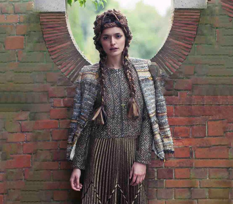 Byzantium inspired shoot by period makeup artist Fiona Tanner South East London