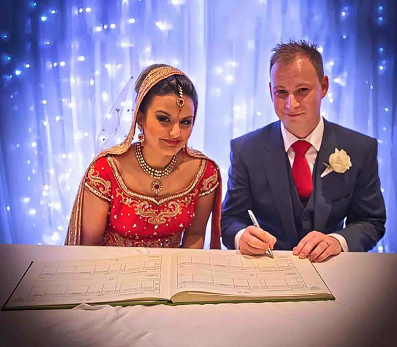 Erin Ali by Indian Wedding artist Fiona Tanner Makeup London