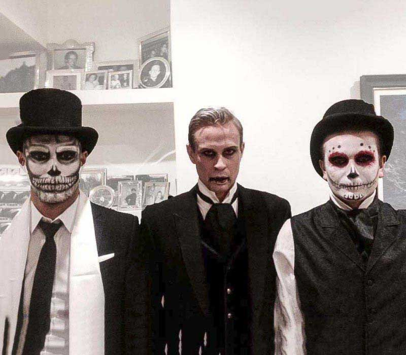 HALLOWEEN makeup artist London services by FT including vampire, day of the dead and skull