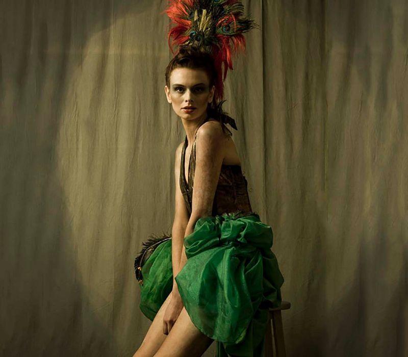 Hair makeup costume by burlesque makeup artist FT