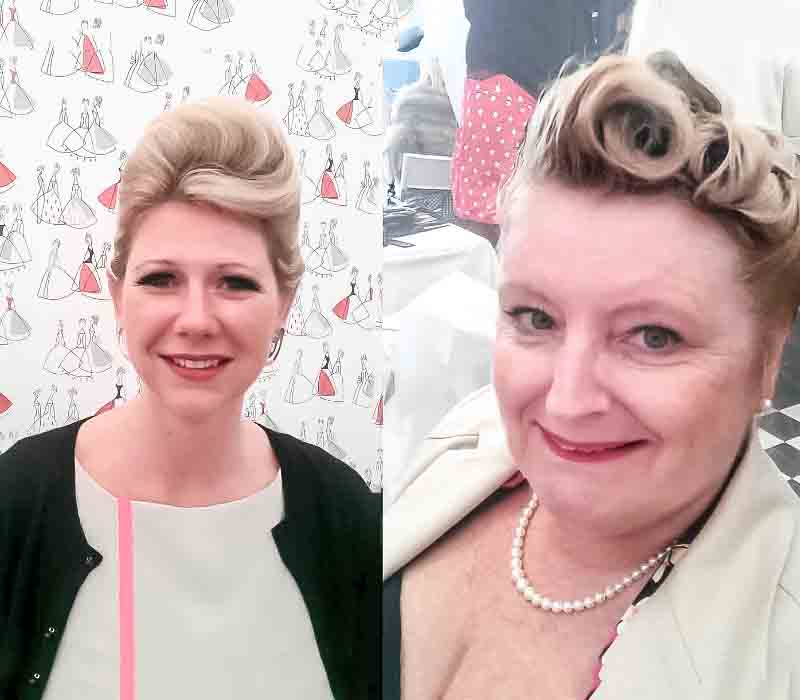 VINTAGE HAIR FIONA TANNER AT REVIVAL AT GOODWOOD for Vintage hair Lounge