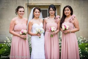 Rosy April 2017 wedding by Asian bridal makeup artist Fiona Tanner