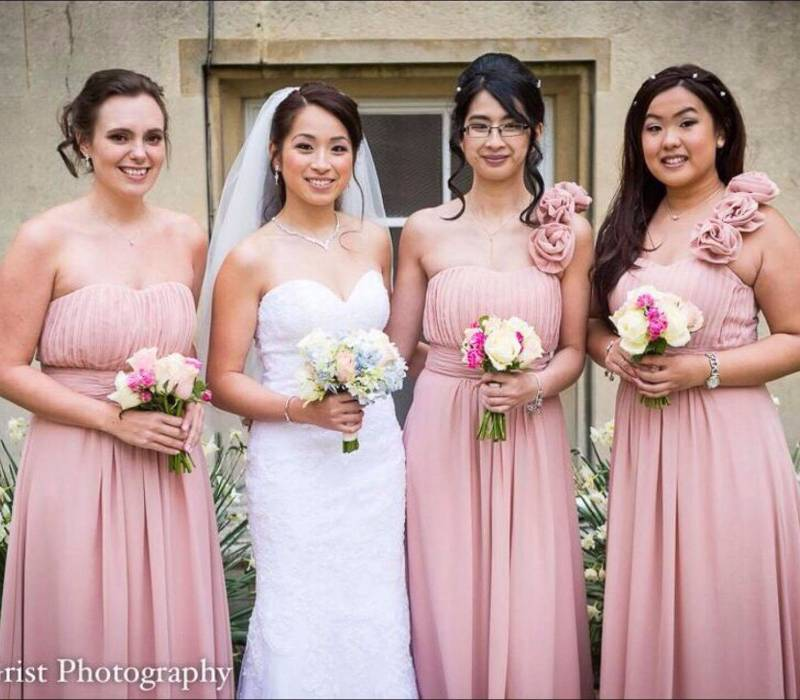 rosy tu & bridesmaids 2017 April wedding