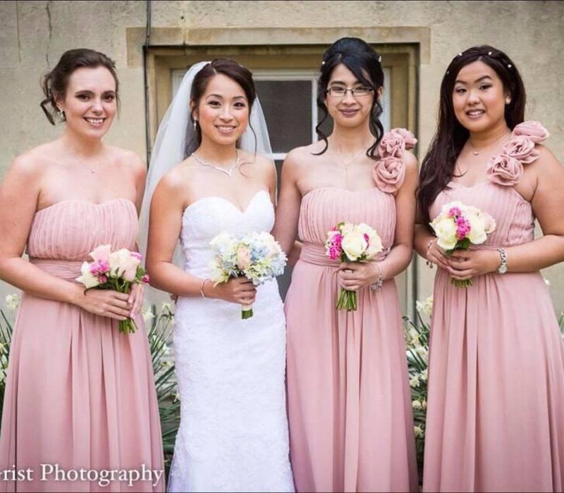 rosy tu & bridesmaids 2017 April wedding