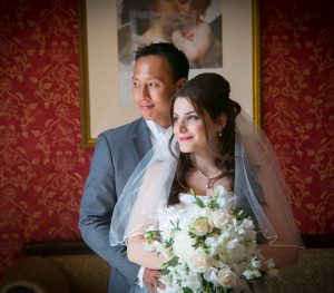 Bridal Makeup artist Fiona Tanner for Syrian Chinese Wedding