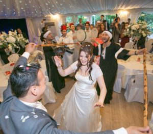 Party at Syrian Chinese wedding by FT
