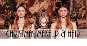 CHRISTMAS 2017 freelance hair and makeup artist FTMakeup London