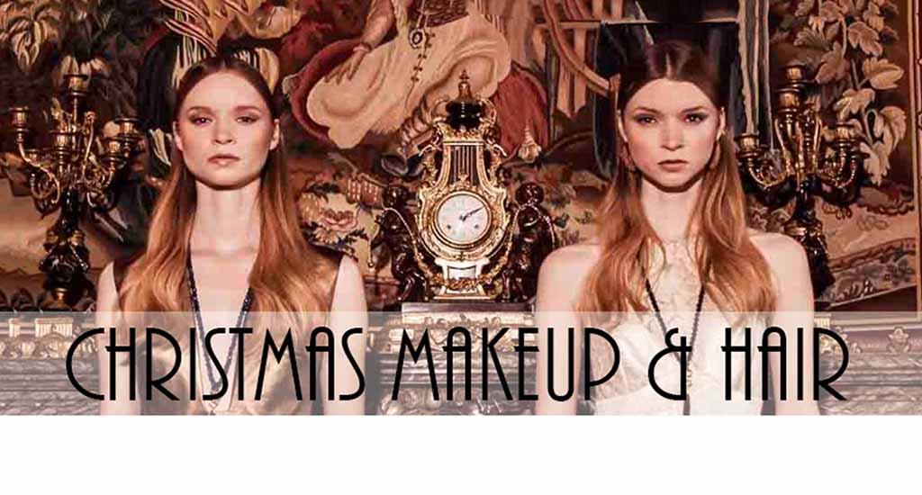 CHRISTMAS 2017 freelance hair and makeup artist FTMakeup London