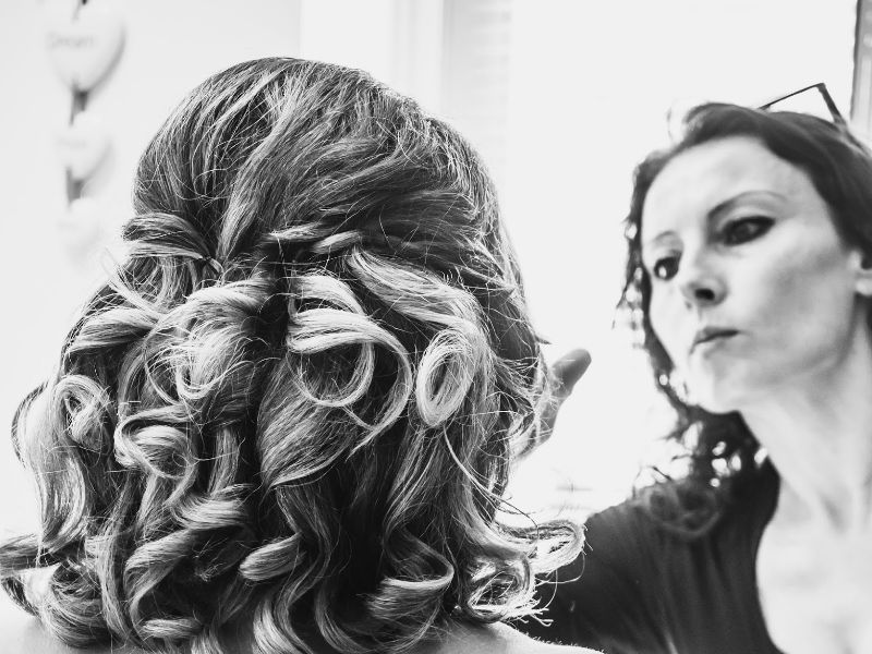 London Wedding Photography - Nicola J Fiona Tanner Hair & Makeup