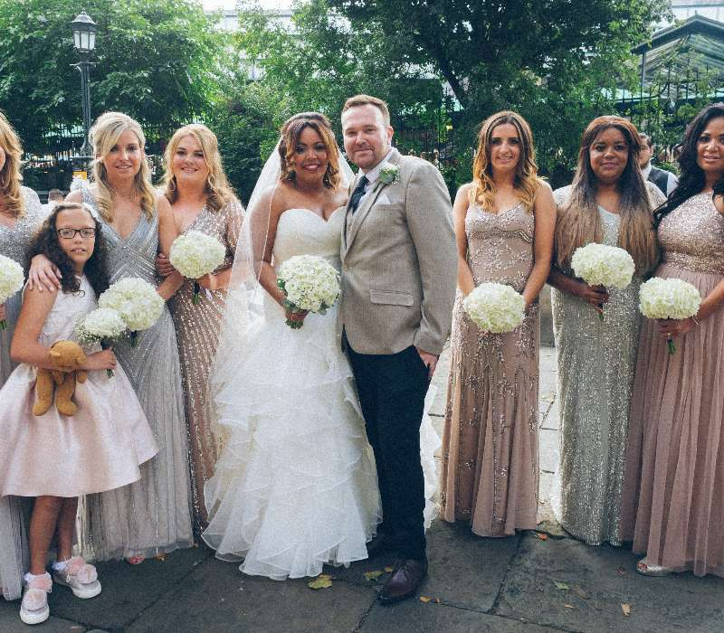 London Wedding Photography - Nicola Jamie-Fiona Tanner Hair & Mkp