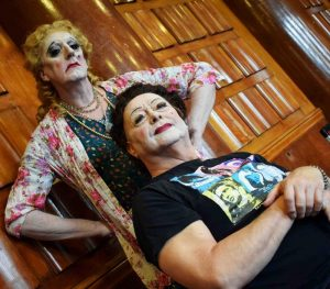 Whatever happened to Baby Jane (Bette and Joan) Drag Makeup by FT