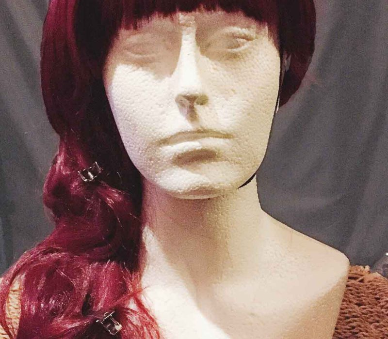 Wig service at FTMakeup london for transvestites & drag queens