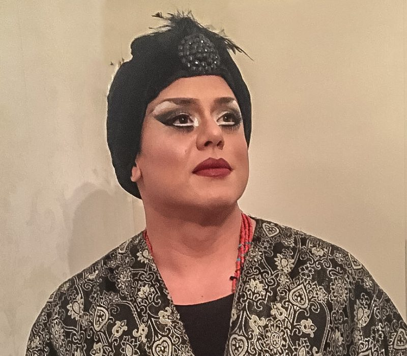 cross dressing service at FTMakeup London including wigs
