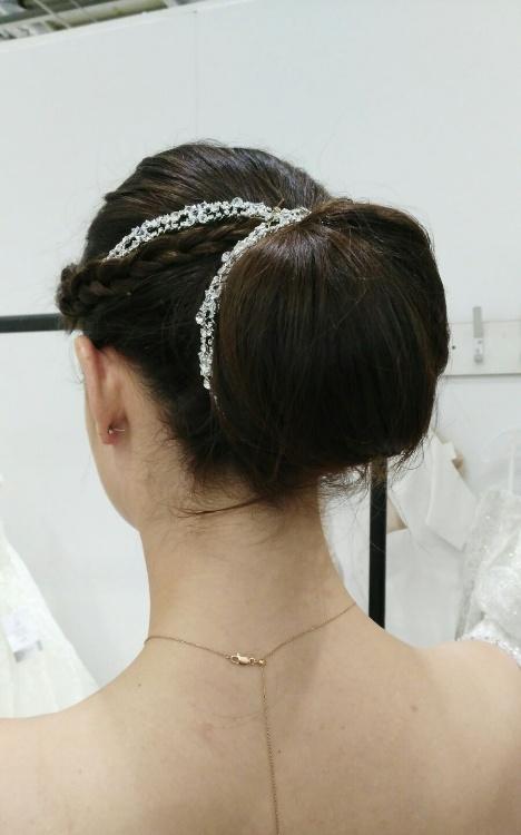 Bridal hair hair up looks 2018 4