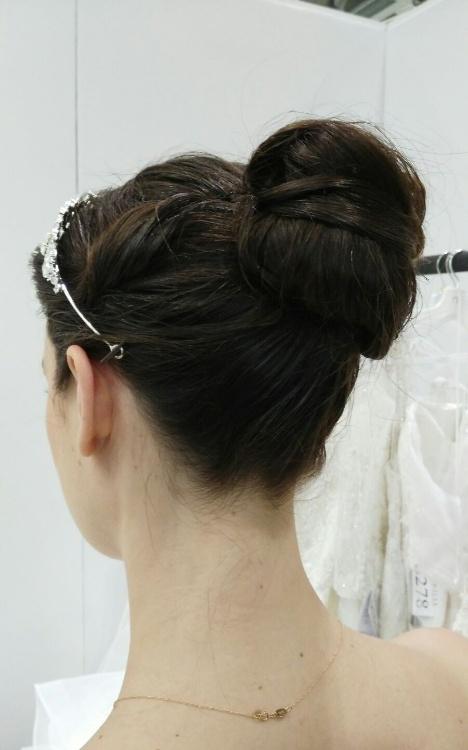 Bridal hair hair up looks 2018 5