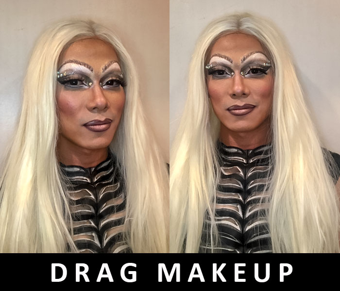 Drag Makeup Artist and wigs 2018 by FT