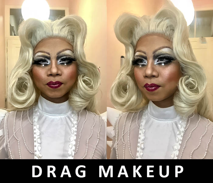 Drag Makeup and wigs 2018 by FT