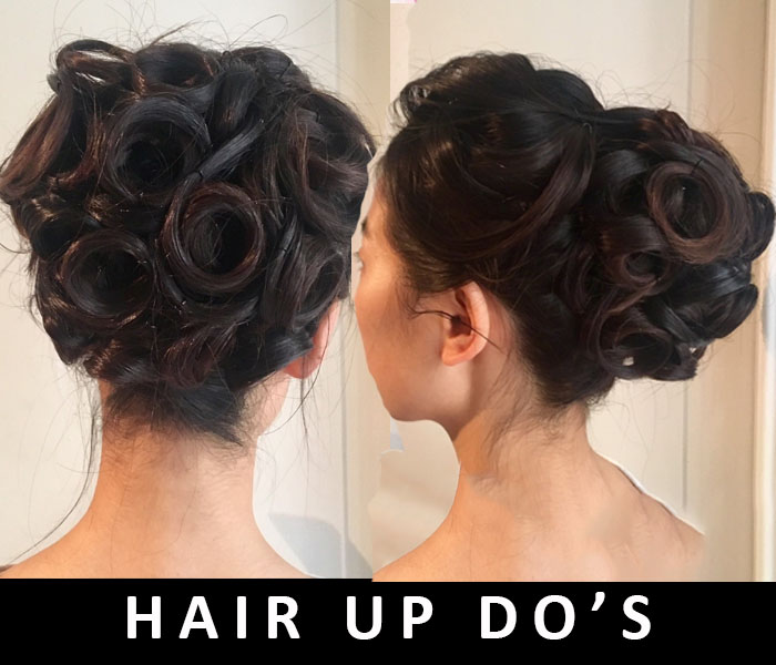 Hair up do's 2018 by FT