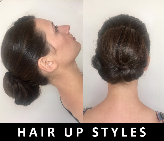 Hair up styles 2018 by FT