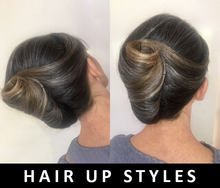 Hair up styles-French Pleat 2018 by FT