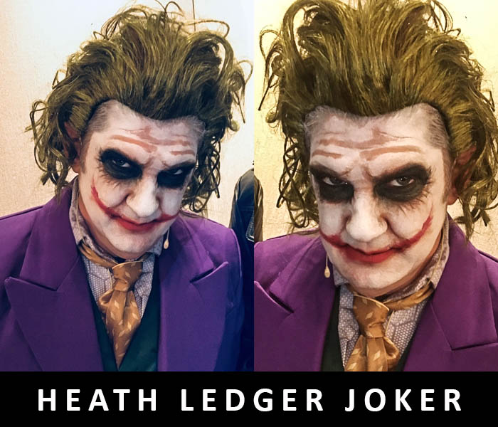 Heath Ledger Joker for Acorn Properties 2018 by FT