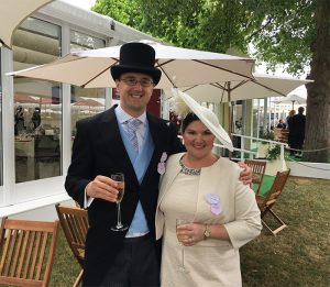 Mary Hudson-Makeup and Hair for Ascot 2018 by FT