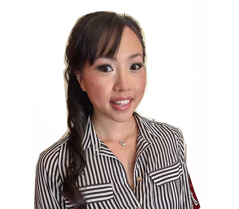 Asian makeup and hair artist